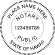 HI-NOT-SEAL - Hawaii Notary Seal