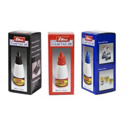 2 oz bottle of Supreme Quality Rubber Stamp Ink is good for self inkers and rubber stamp pads.