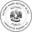 LA-NOT-SEAL - Louisiana Notary Seal