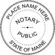 ME-NOT-SEAL - Maine Notary Seal