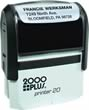 Order the 2000 plus Printer 20 Self-Inking Rubber Stamp