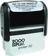Order the 2000 plus Printer 30 Self-Inking Rubber Stamp