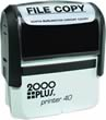 Order the 2000 plus Printer 40 Self-Inking Rubber Stamp