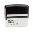 Order the 2000 plus Printer 45 Self-Inking Rubber Stamp