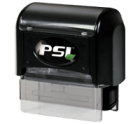 Order a PSI 1444 Self-Inking Rubber Stamp. It is a Premium Pre-inked stamp that is good for about 20,000 impressions before needing more ink.