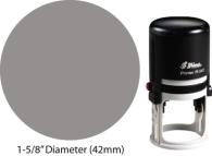 R-542 - R-542 Self-Inking Stamp-1-5/8 in Dia.