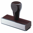 Order inexpensive traditional rubber stamps at discount prices. These rubber stamps are great for name stamps and other uses when a single word or short line of text is all that is needed.