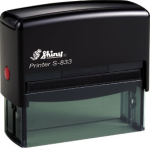 Order a Shiny S833 Self Inking Rubber Stamp from The Rubber Stamp Shop.