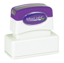 Order a MaxLight XL2-115 pre-inked rubber stamp.