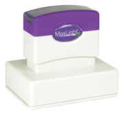 Order a MaxLight XL2-225 pre-inked rubber stamp.