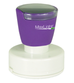 Order a MaxLight XL2-495 pre-inked rubber stamp.
