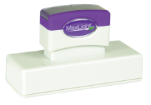 Order a MaxLight XL2-750 pre-inked rubber stamp.