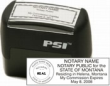 Montana Pre-Inked Notary Seal Stamp is